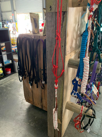 HAT Creek - Custom Made Halter & Lead Set