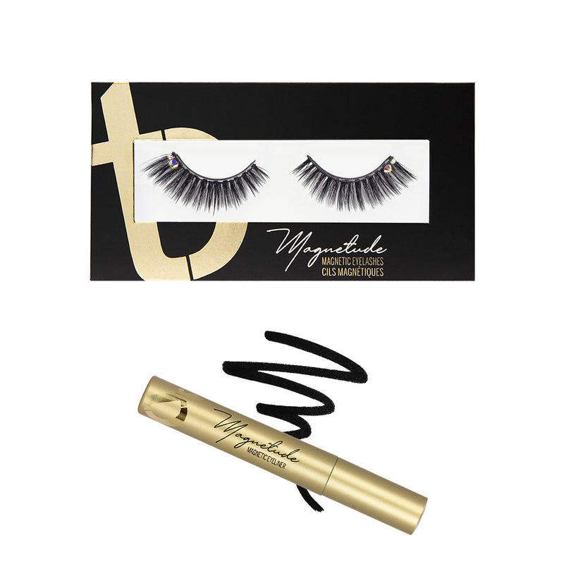 Amore Magnetude Lash Bundle with Magnetude Gold Magnetic Eyeliner