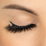 Amore Magnetude Lash on model closed eye front