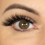 Amore Magnetude Lash on model, open eye, front