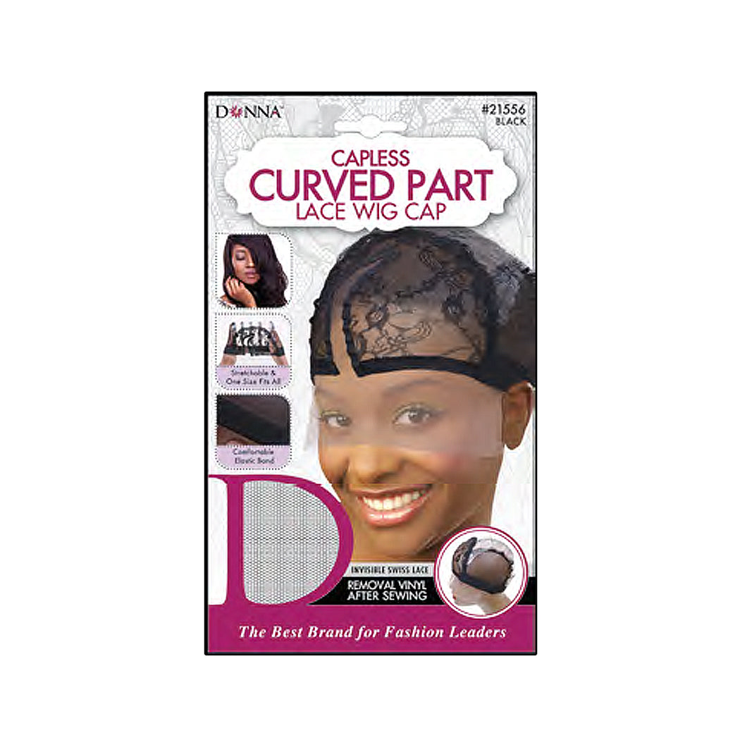 Donna Capless Curved Part Lace Wig Cap 21556