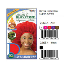Load image into Gallery viewer, Donna Argan & Black Castor Day & Night Cap Super Jumbo 22634 / 22633