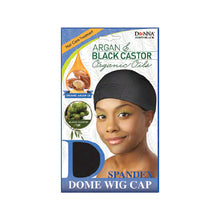 Load image into Gallery viewer, Donna Argan & Black Castor Organic Oils Spandex Dome Wig Cap 22673