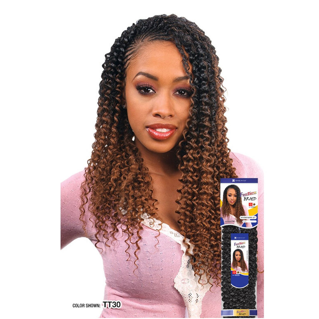 Freetress Synthetic Braid WATER WAVE BULK 22