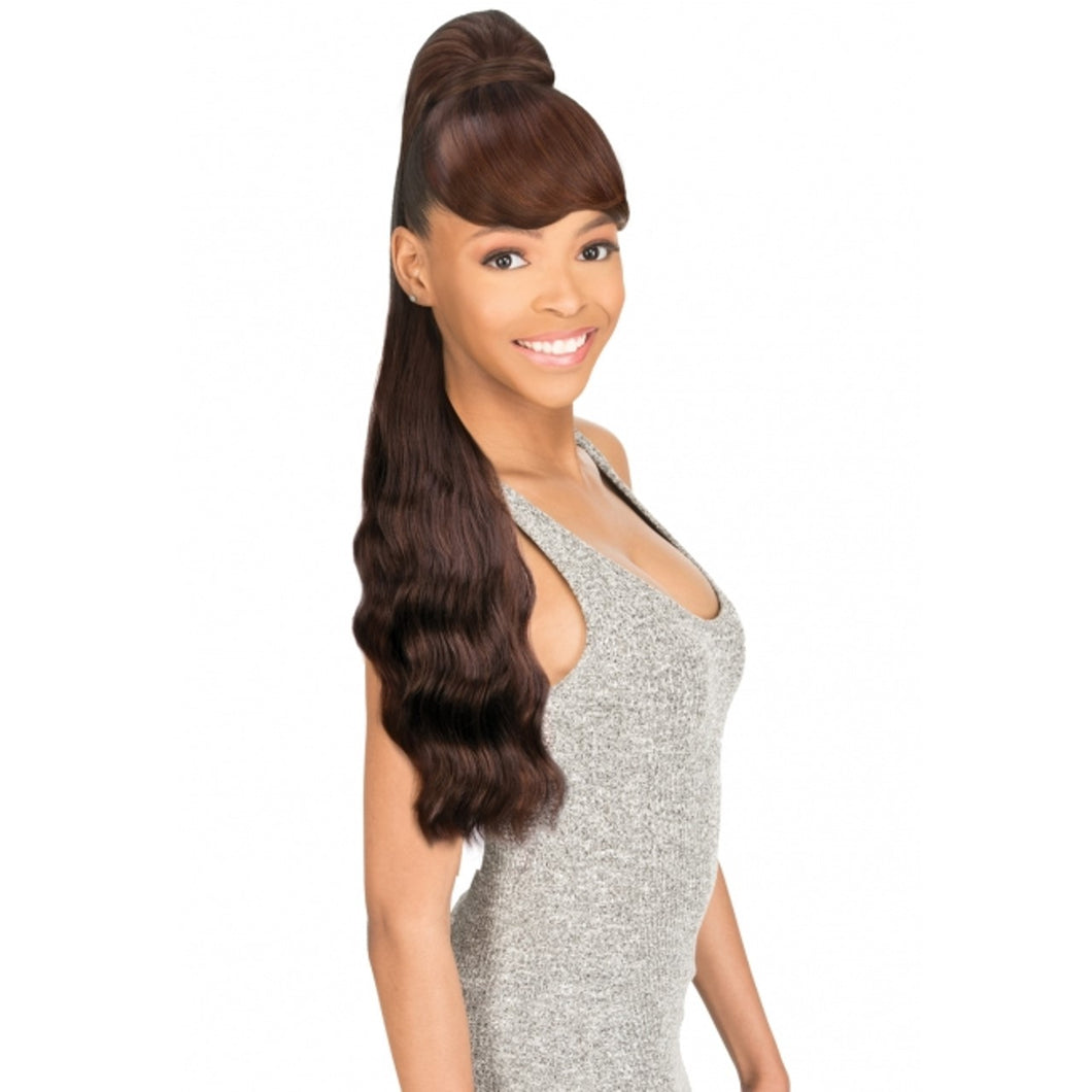 New Born Free Drawstring Ponytail Bang&Pony BODY WAVE 26
