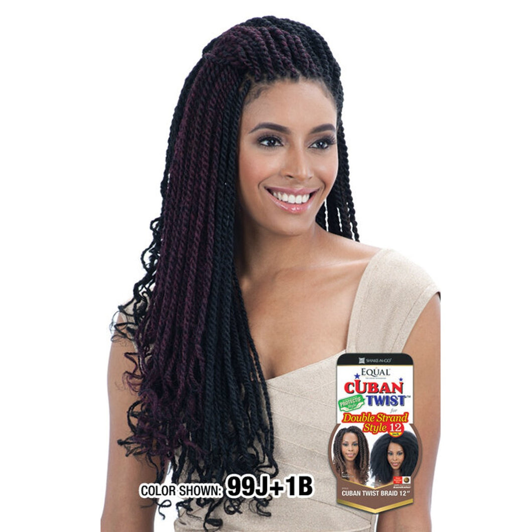 Freetress Equal Synthetic Braiding Hair CUBAN TWIST 24