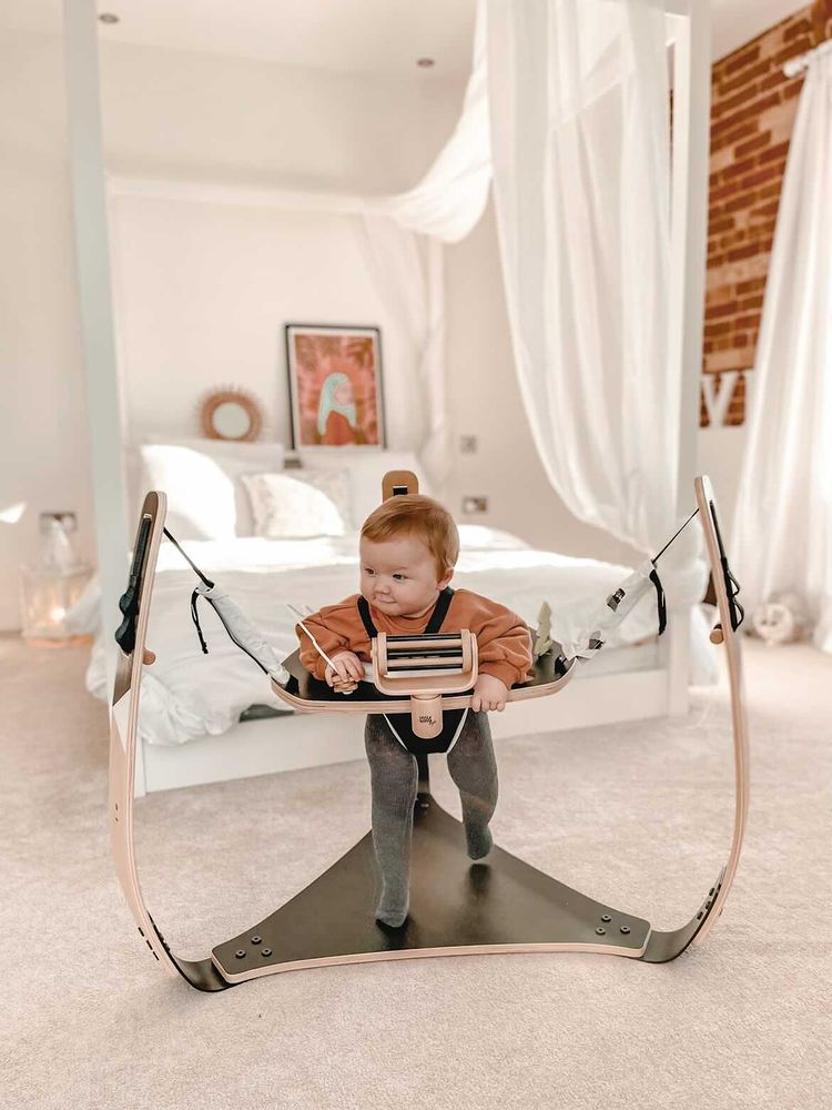 Wooden Baby Bouncer Little Hoppa