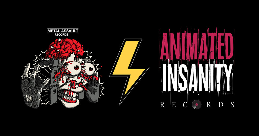 Metal Assault Records + Animated Insanity Records distro deal