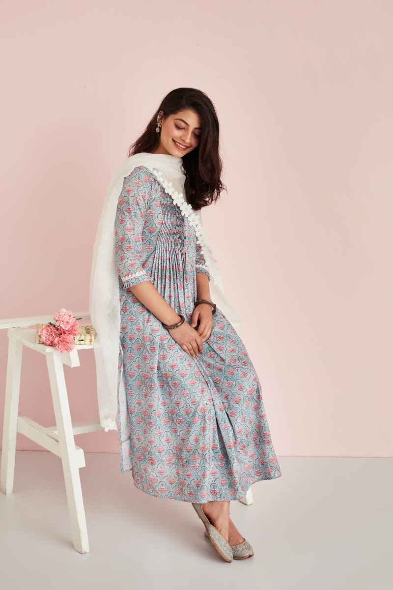 AFREEN SET - KURTA, PANTS & DUPATTA