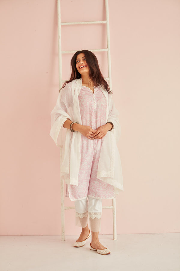 GUL SET - KURTA, PANTS & DUPATTA