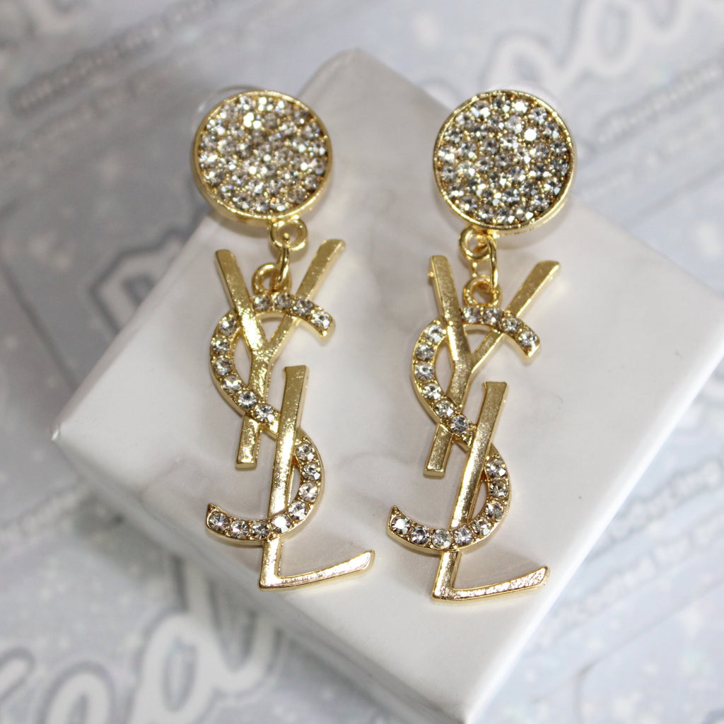 Glam YSL Earrings