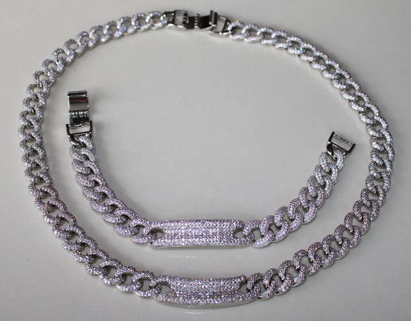 Icy Cuban Link Set