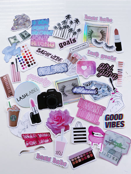 MAKEUP LOVERS Sticker Pack