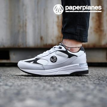 Paperplanes PP1418 White Black