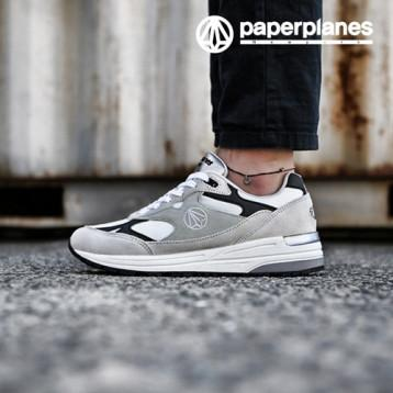 Paperplanes PP1418 Light Gray Black