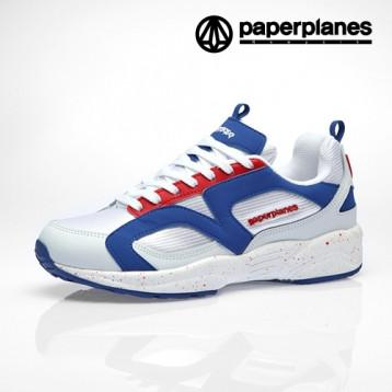 Paperplanes  PP1352 White Blue Red