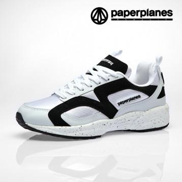 Paperplanes  PP1352 White Black