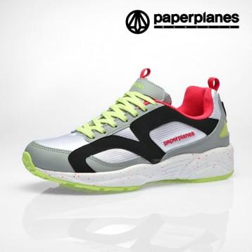 Paperplanes  PP1352 Gray Lime Pink