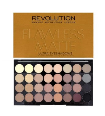 Make Up Revolution32色 眼影盤 - Flawless Matte