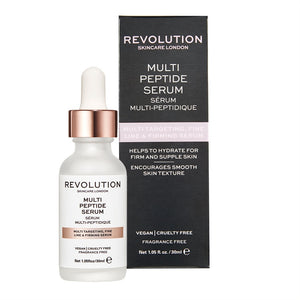 Makeup Revolution Skin Multi Targeting & Firming Serum - Multi Peptide Serum 多重修護時光逆轉滋潤精緻精華(30ml)