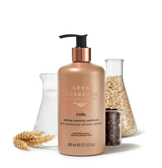 Grow Gorgeous CURL DEFINING CLEANSING CONDITIONER 400ML 【捲髮專用】抗毛躁定型2合1清潔護髮素