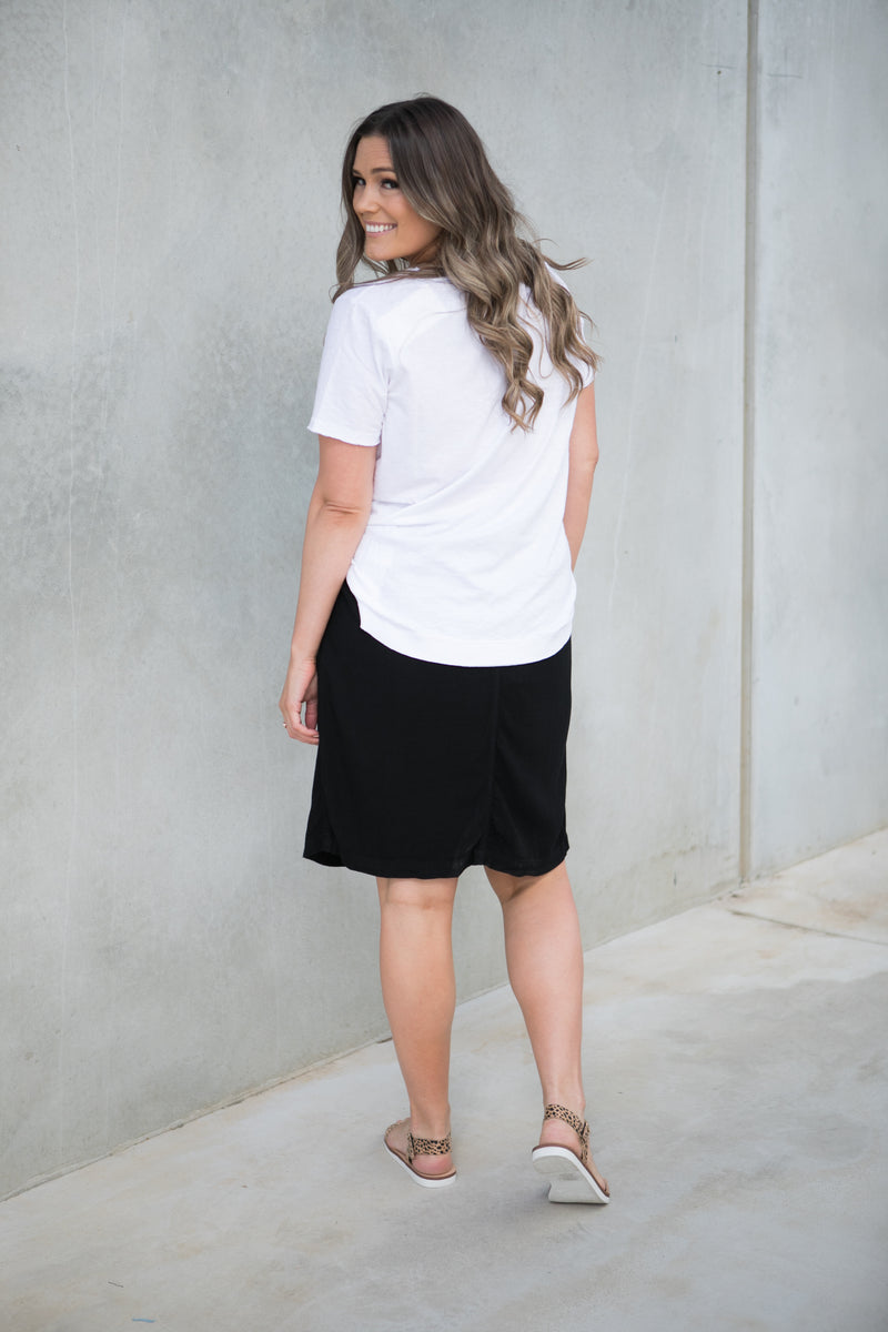 ALBIE SKIRT - Black