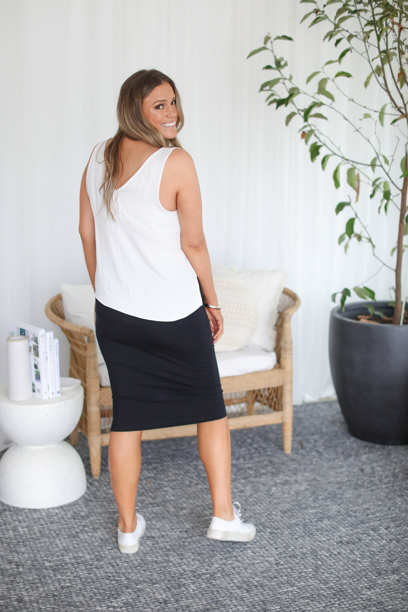 SIRI SKIRT- Black