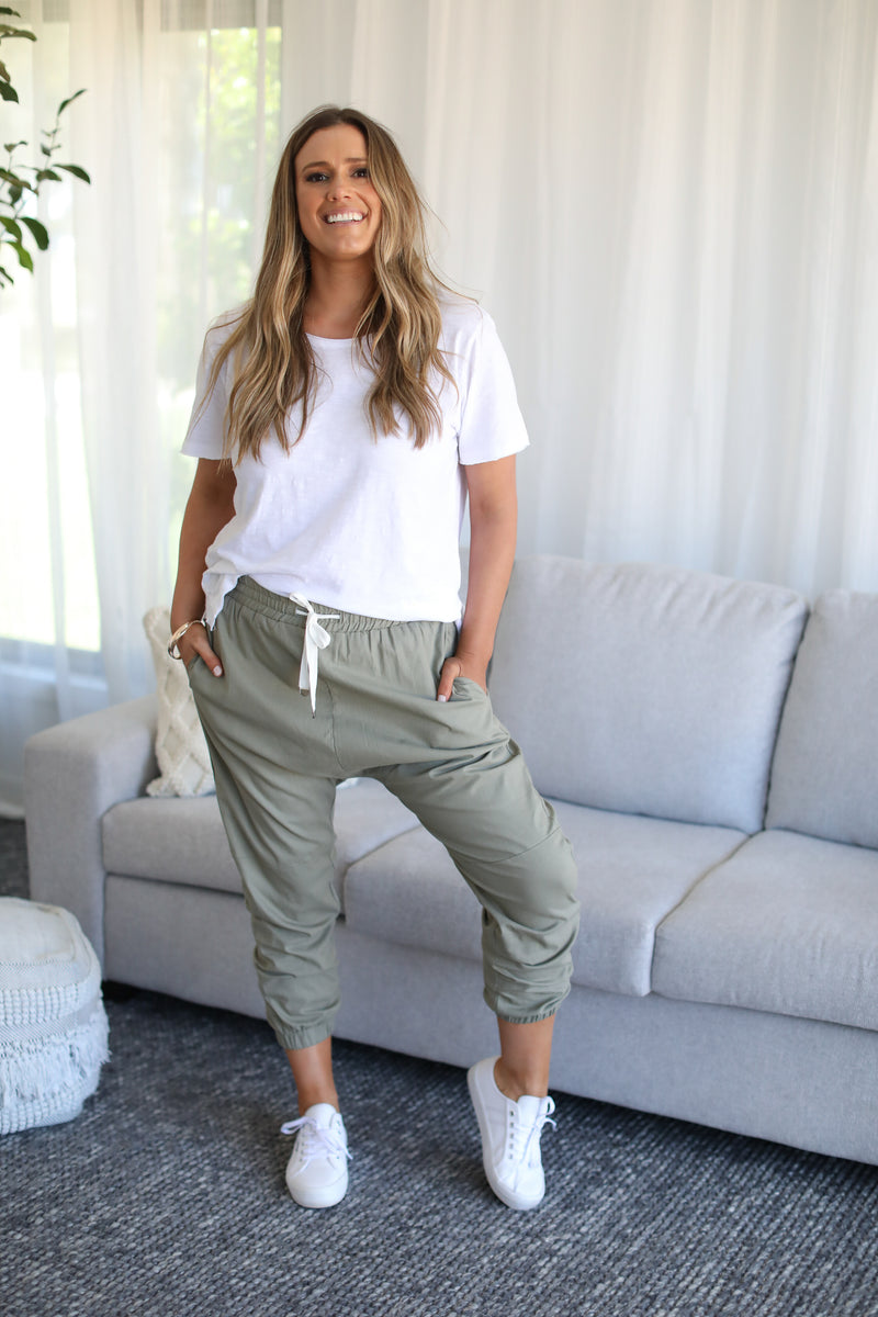 BAILEY PANTS - Khaki
