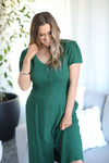 DAYLESFORD DRESS- Dark Green