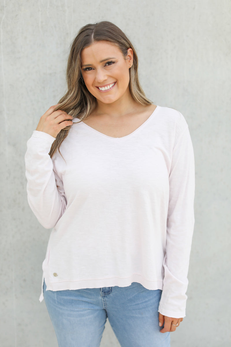 HIGHLINE L/S TOP - Lilac