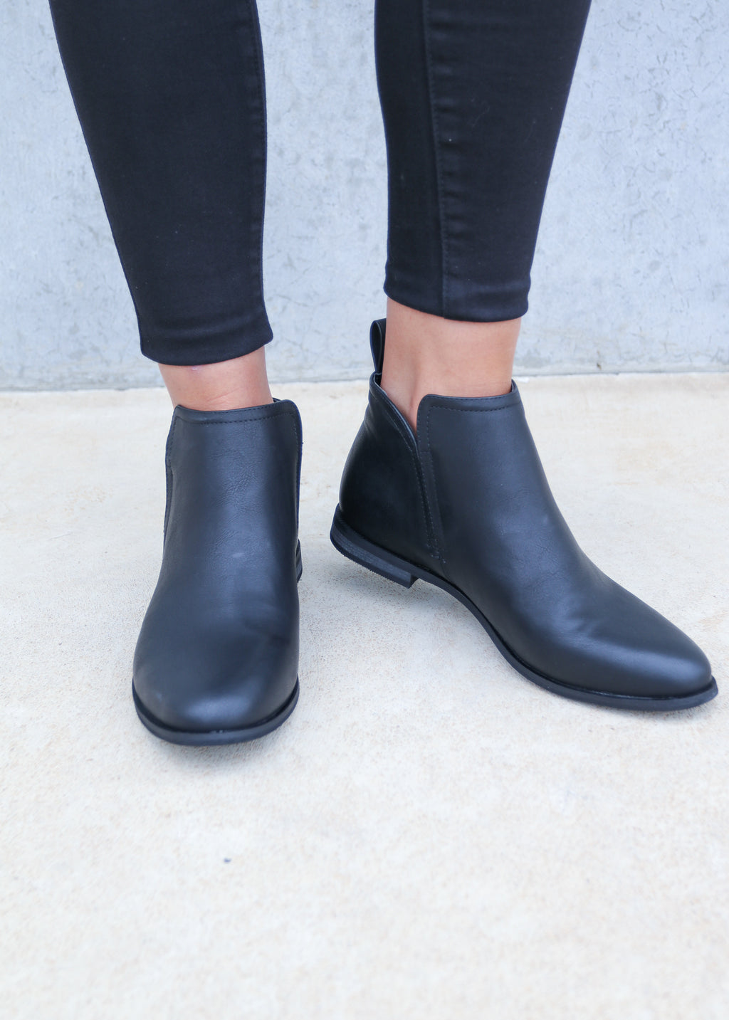 EMMA BOOT- Black Softee