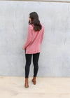 JEMMA KNIT TOP- Dusky Pink