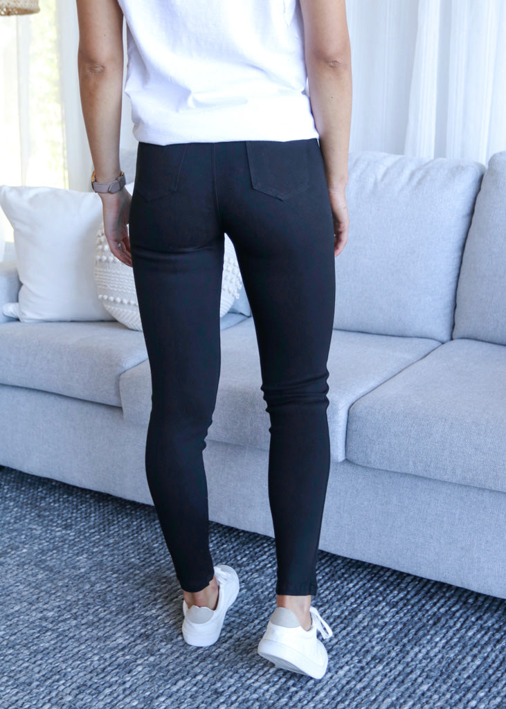 CONNIE PULL ON PANTS- Black