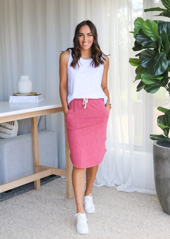 CASSIE SKIRT - Melon