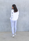 ZIGGY SWEATER- White