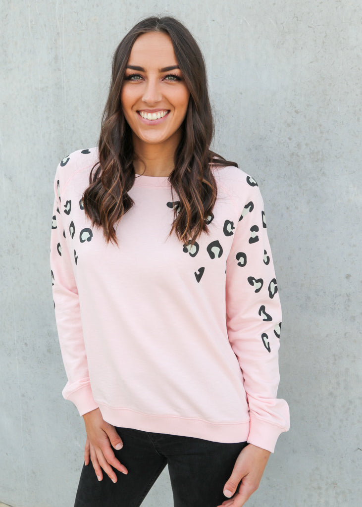MARLEY SWEATER- Light Pink
