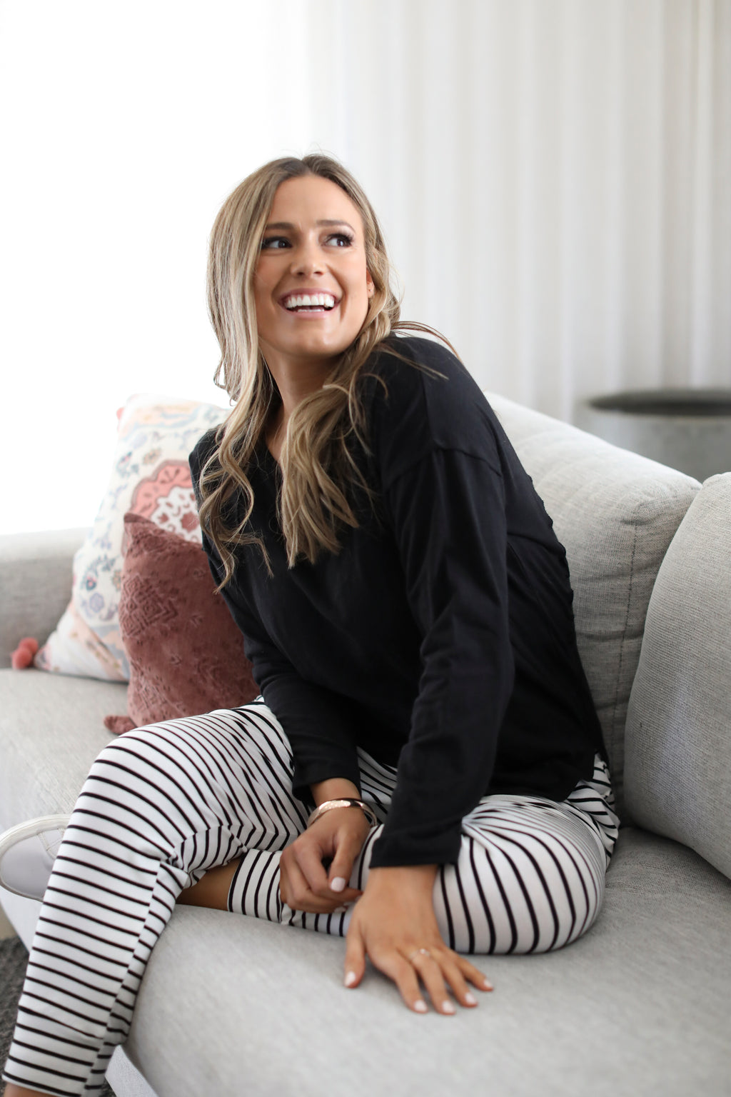 MACKENZIE L/S TOP - Black
