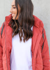 ZADIE JACKET- Rust