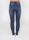 KYLIE HIGH RISE JEAN - Ink Wash