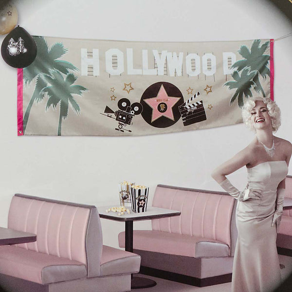 Banner Hollywood 74 x 220 cm
