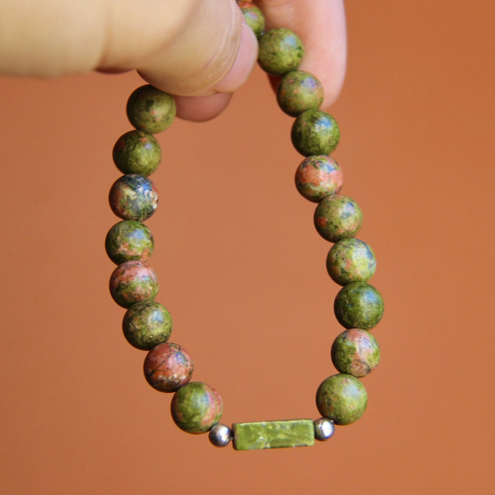 Earth Beaded Bracelet - Wear The Peace