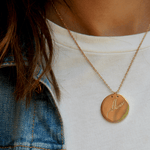 Peace سلام Coin Necklace