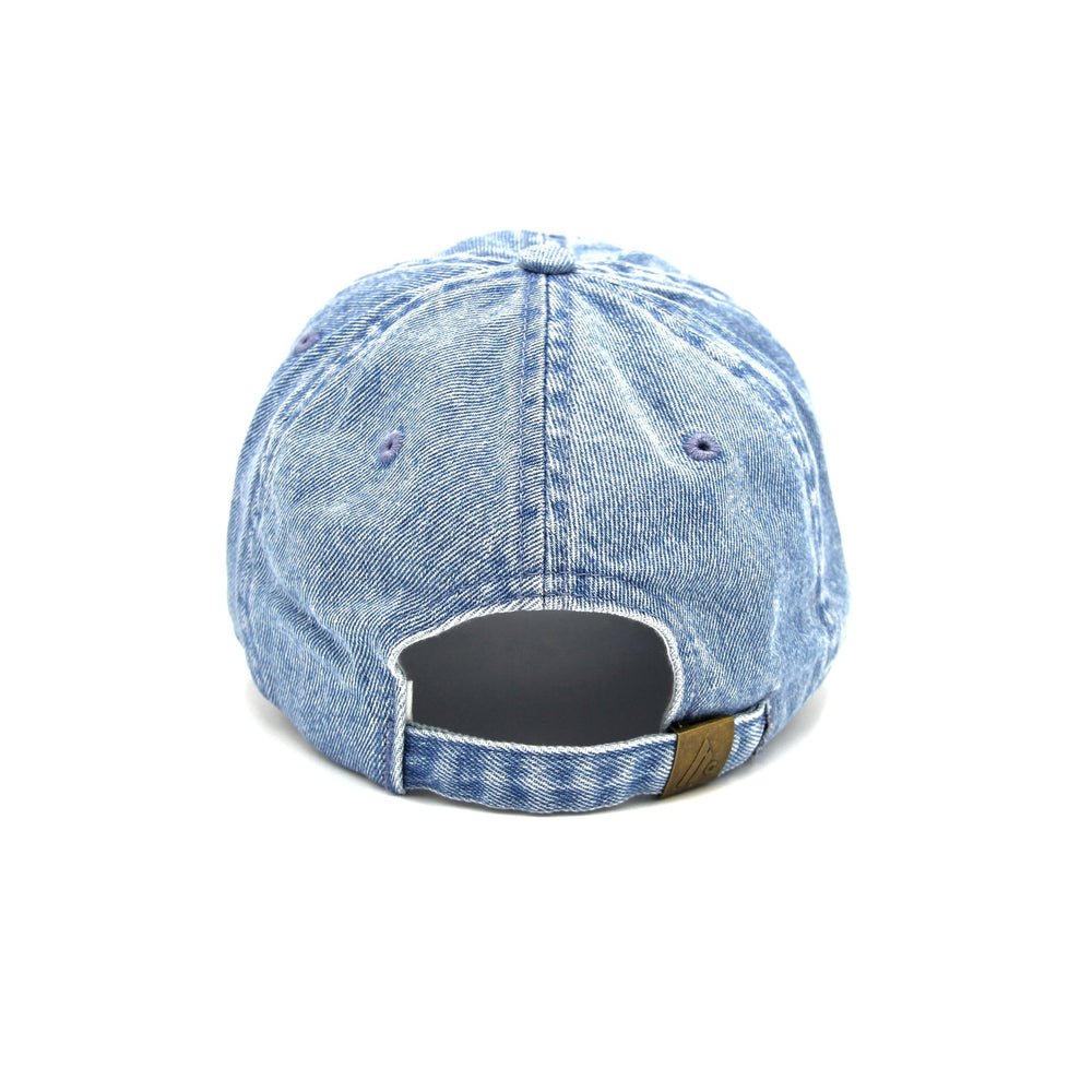 Protect Your Peace Denim Dad Cap - Wear The Peace