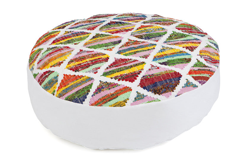 Diya Round Floor Cushion