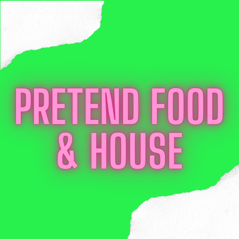 Pretend Food & Household