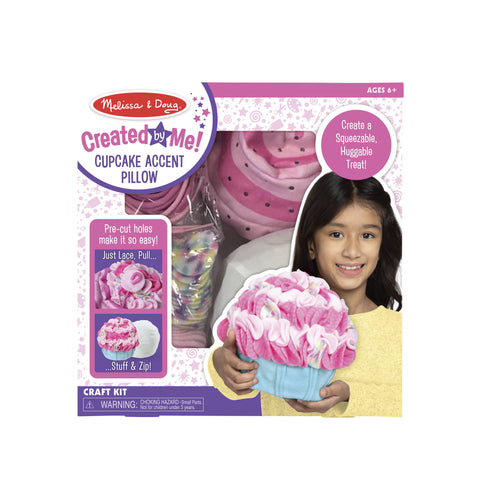 Created by Me! Cupcake Accent Pillow by Melissa & Doug #30625