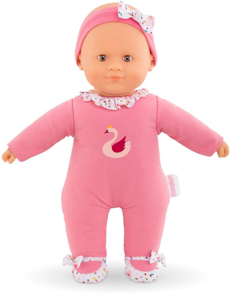 "Sweet Heart Swan Royale - Mon Doudou 12"" Soft-body Baby Doll with Vanilla Scent by Corolle"