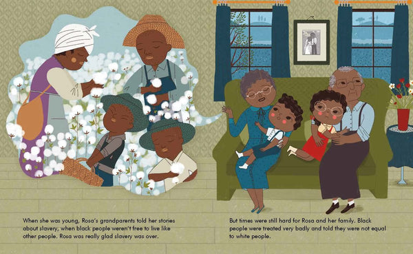 Little People, Big Dreams Book-Rosa Parks