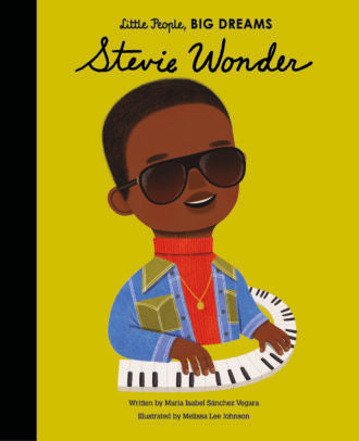 Little People, Big Dreams Book-Stevie Wonder