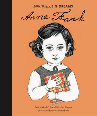 Little People, Big Dreams Book-Anne Frank